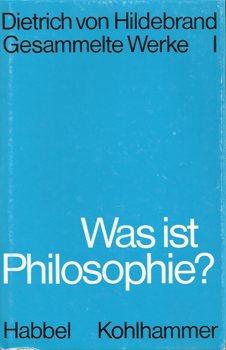 ALG- Hildebrand Philosophie